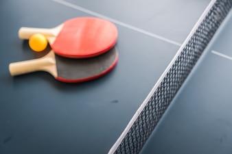 Ping pong vecteurs et photos gratuites - Dimension d une table de ping pong ...
