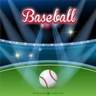 Terrain de baseball image libre