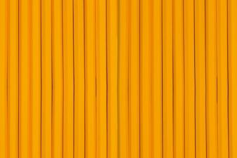 Texture de crayons à l'orange