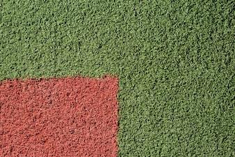 Texture de l'herbe colorée