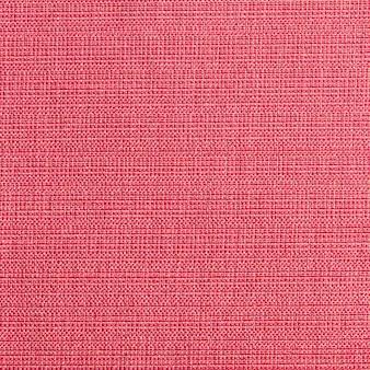 Texture de toile de lin rouge