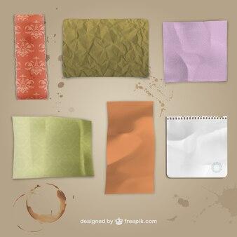 textures de papier grunge