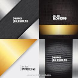 textures métalliques Pack