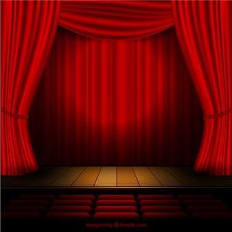 courtains Théâtre