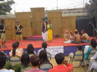 Théâtre indien, de la danse