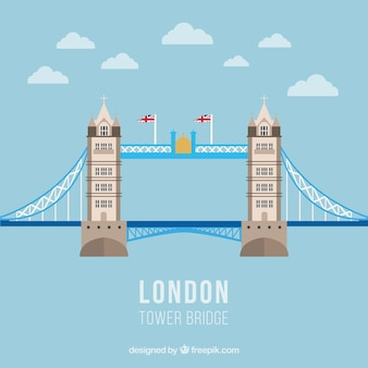 Tower bridge illustration