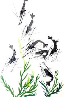Traditionnel cadre artistique artistique japonais japonais