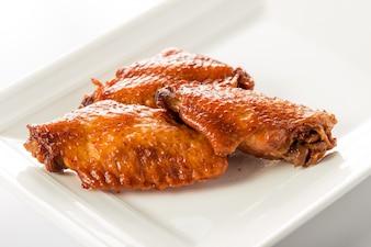 Trois ailes de poulet