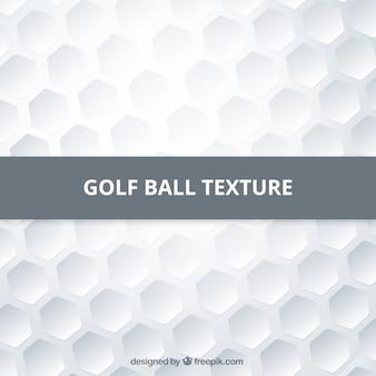 Une balle de golf texture