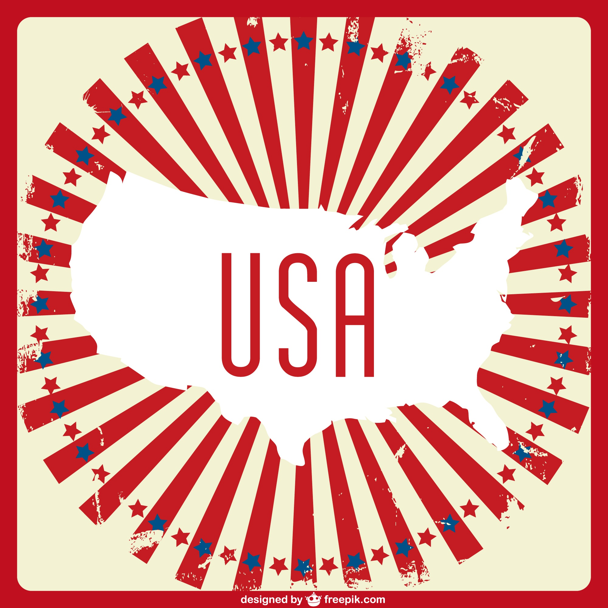 Usa vecteur art