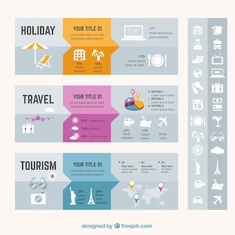 Vacances Voyage infographie