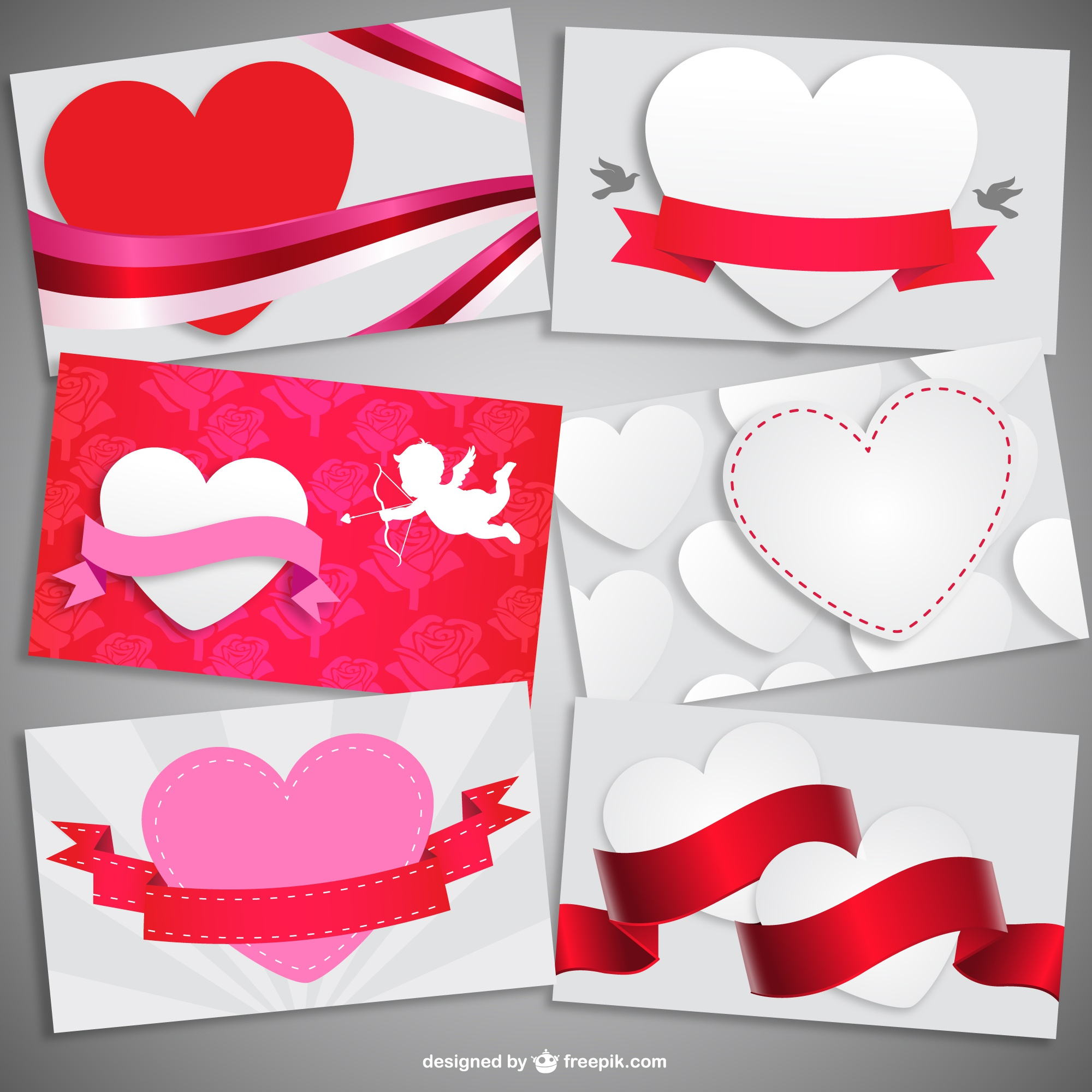 Valentine cartes collection