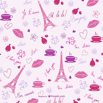 Motif Valentine Paris