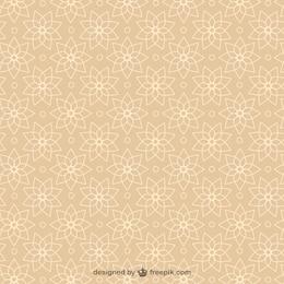 Vecteur abstrait arabesque