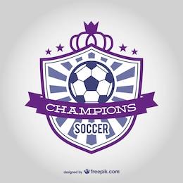 Vecteur emblème du club de football
