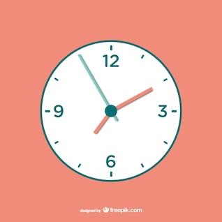 Vecteur horloge téléchargement gratuit