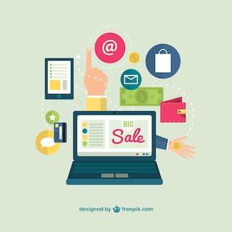 Vente en ligne