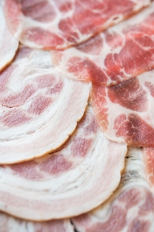 Viande de porc cru
