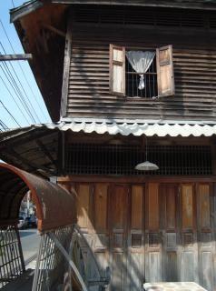 vieille maison en bois extérieur
