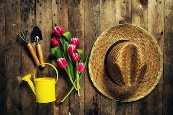 Vieux bois table chapeau kit