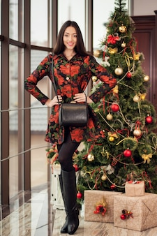 Visage mode mannequin sac années gagnant vin
