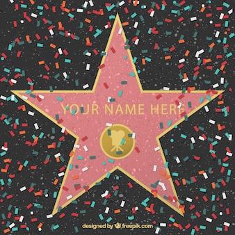 Walk of Fame étoiles