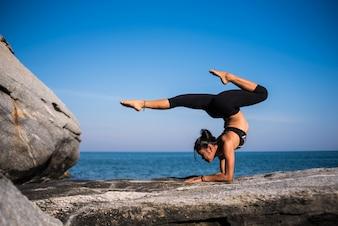 Zen mer relaxation sport féminin