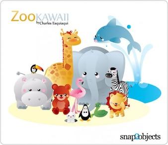 Zoo de Kawaii