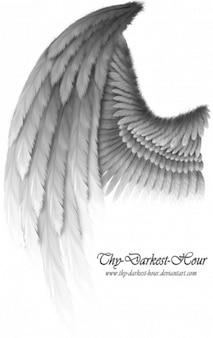 alas de fantasía de plata