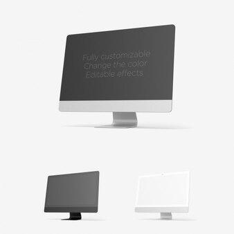 Apresentação iMac realista