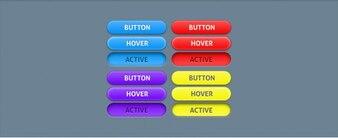 Botón de color púrpura