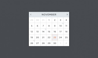 Calendario calendario psd psd