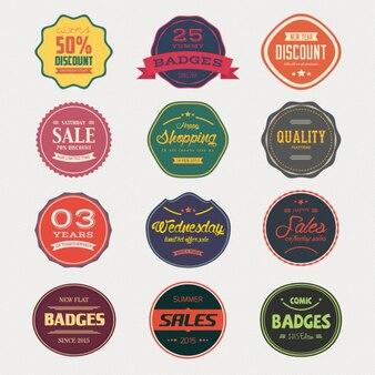 Coleta de venda emblemas