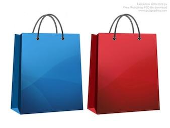 Compras icono de bolsa
