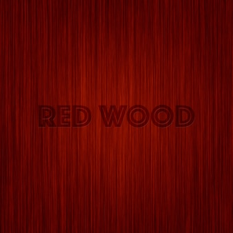Diseño de fondo de madera roja