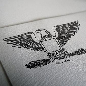 Diseño de mock up de logo