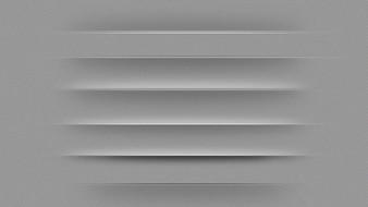 Divisores de cinza de páginas web