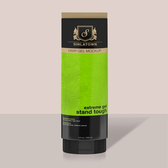 Embalagem cosmética se maquete