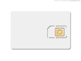 En blanco de la tarjeta SIM