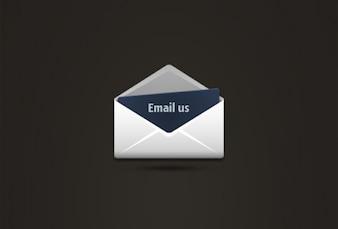 Envíenos un correo electrónico con el sobre