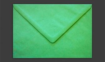 Envolvente aislado verde psd