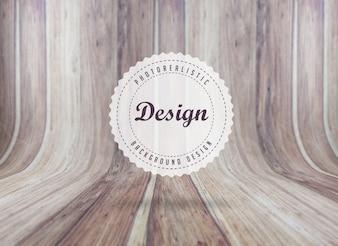 Fondo de textura de tablas de madera realista