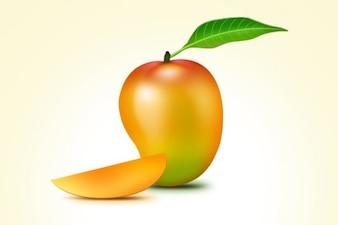 Frutos de mango icono de PSD
