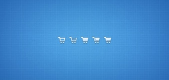 Iconos png psd carro de la compra