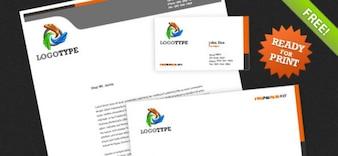 Identidad Corporativa PSD Paquete