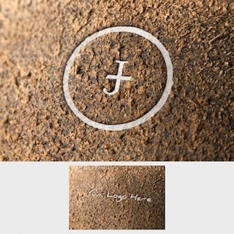 Logo mock up apresentação