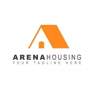 Logotipo casa naranja