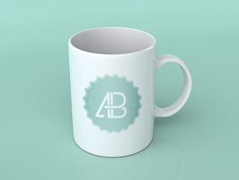 Mock up de taza