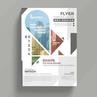 Mockup creativo de flyer