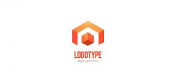 Modelo de design corporativo logotipo